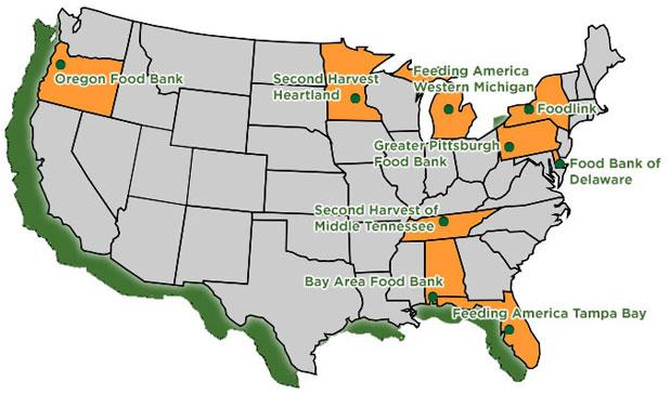 PCI Member Map